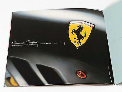 Ferrari Carrozzeria Scaglietti Personalization Program Brochure Set 2003