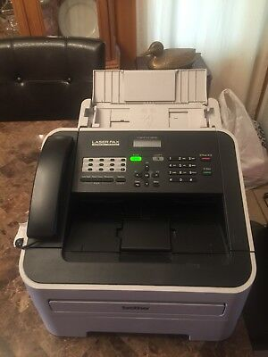 laser fax super G3/ 33.6 kbps intellifax 2840 brother