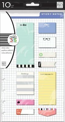 Create 365 Classic Happy Planner: Sticky Notes  POST-03