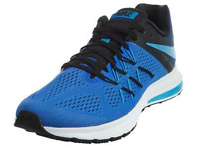 low priced d3d9c 0876c NIKE ZOOM WINFLO 3 Shield 831561-401 Blue/Black/White Running Shoes [140N]