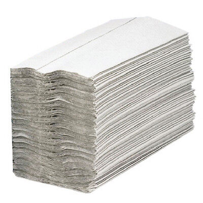 2Work White 1-Ply C-Fold Hand Towel (Pack of 2955) KF03802