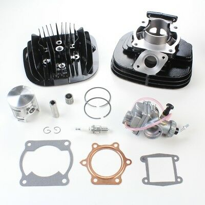 Cylinder Head Piston Carburetor Top End Kit for Yamaha Blaster 200 '88-06
