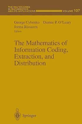 The Mathematics Of Information Coding, Extraction And Distribution (the Ima V...