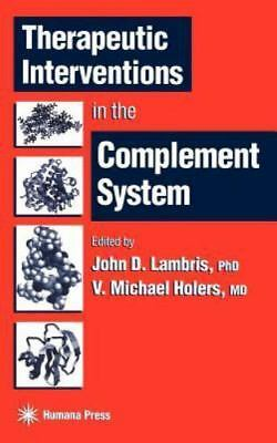 Therapeutic Interventions In The Complement System (contemporary Immunology)