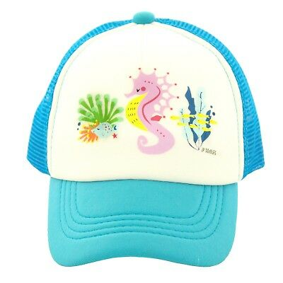 Seahorse on Kids Trucker Hat- Baby Infant Toddler Youth Baseball Cap