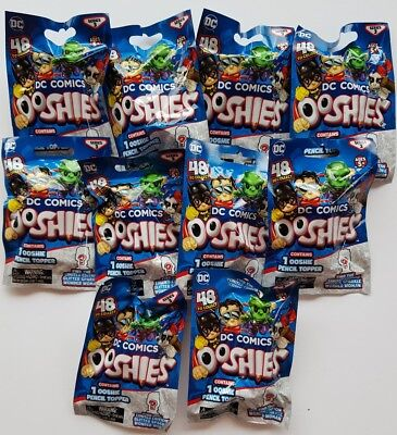 DC Ooshies Series 3 Foil Bag - NEW - 10 pack