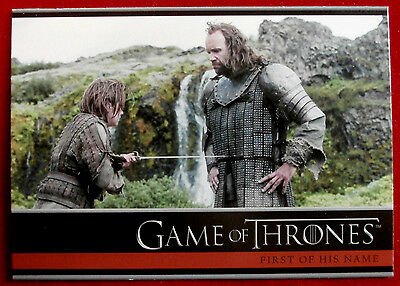GAME OF THRONES - Season 4 - Card #14 - FIRST OF HIS NAME B - Rittenhouse 2015