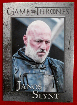 GAME OF THRONES - Season 4 - Card #84 - JANOS SLYNT - Rittenhouse 2015