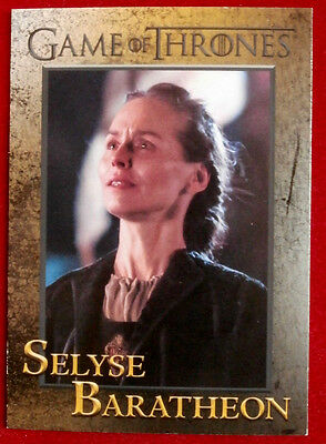 GAME OF THRONES - Season 4 - Card #87 - SELYSE BARATHEON - Rittenhouse 2015