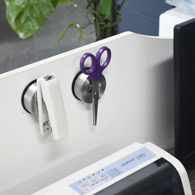 2PCS Desktop Suction Magnetic Organizer Rack Stationery Office Supplies Storage