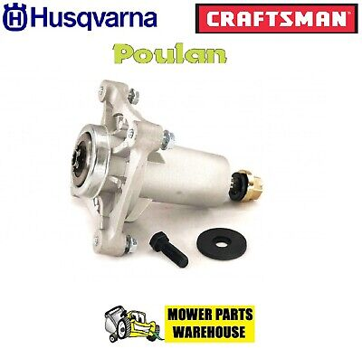 New Lawn Mower Deck Blade Spindle Assembly Fits Ayp Husqvarna 192870 539112057