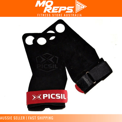 PicSil Grips 3 Fingers Crossfit Gymnastics Palm Protectors gym glove Pull up