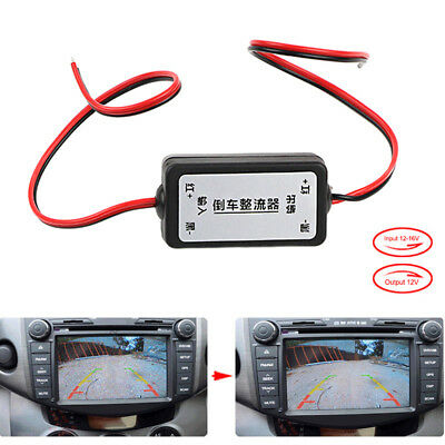 Car backup camera Relay Regulator GPRS filter remove waves on the car monitor