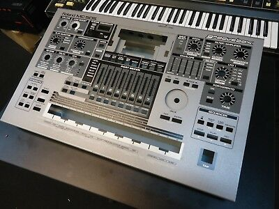 Roland Mc-505 Synthesizer Top/bottom Face Panel Metal Chassis Spare Part