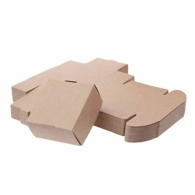 Brown Kraft Paper Box for Party Small Gift Wedding Favors Candy Jewelry Packing