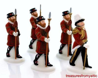 Dept 56 Dickens Village YEOMEN OF THE GUARD #58397 NIB Heritage Palace Guard