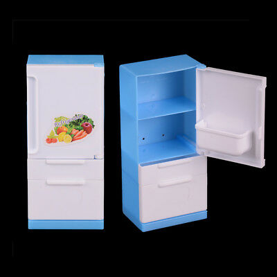 Home Fridge For  Dolls Derivative Product Dolls Furniture Dollhouse Decor""
