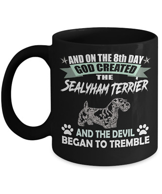 SEALYHAM TERRIER DOG  Mug