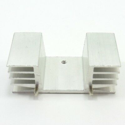 Aluminum IC TO-220 Chip Amplifier Thermal Radiator Heat Sink Cooler 22x48x18mm