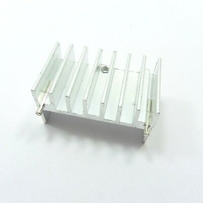 Aluminum IC TO-220 Chip Amplifier Thermal Radiator Heat Sink Cooler 20x32x17mm