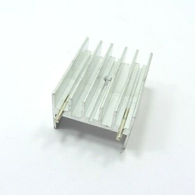 Aluminum IC TO-220 Chip Amplifier Thermal Radiator Heat Sink Cooler 30x23x15mm
