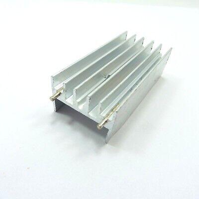 Aluminum IC TO-220 Chip Amplifier Thermal Radiator Heat Sink Cooler 50x23x15mm