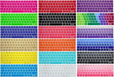 EUVerion Keyboard Skin cover protector for Macbook Air 11 13/Pro 13/15 Retina 12