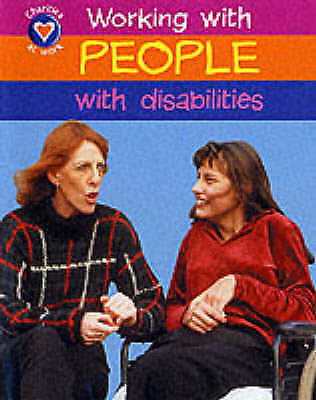 Church, D, Helping People With Disabilities (Charities at Work), Very Good Book