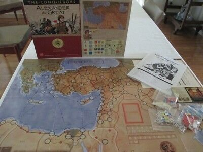 The Conquerors - Alexander the Great Wargame by GMT