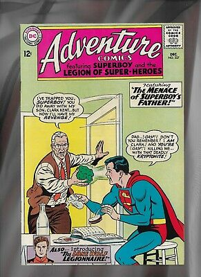 DC Adventure Comics #327, Silver Age_VG/F_(5.0)_Key Issue_Cents Copy