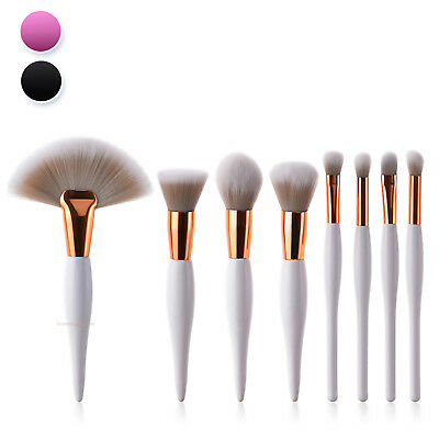 Premium Make up Brush Cosmetic Kabuki Set 8pc Kit Eyeshadow Powder