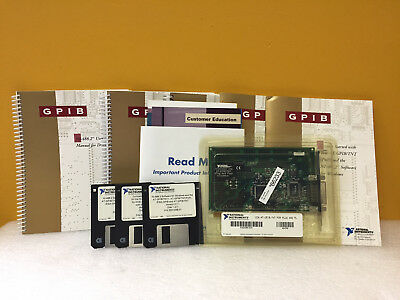 National Instruments 182885E-01 AT-GPIB / TNT, GPIB Interface Card. New!
