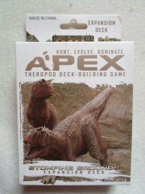 Apex Spielkarten Theropod Deck Building Game Stomping Grounds