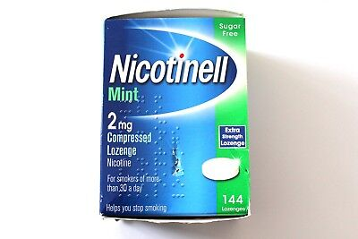Nicotinell Mint 2mg Extra Strength Compressed Lozenge - 144 Lozenges