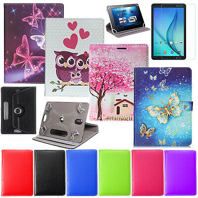 Luxury Leather Case Cover For Lenovo Tab 3 TB-X103F 10.1 Inch Tab+Tempered glass