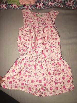 girls next playsuit all in one summer pink age 3 years