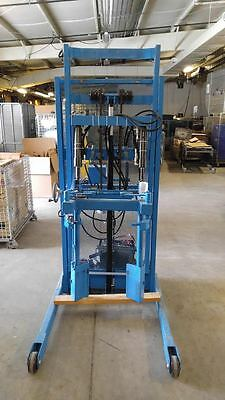 "Morse Drum Racker Model 620-115 ""MORstak"" 12Volt Powered Hydraulic Lift"