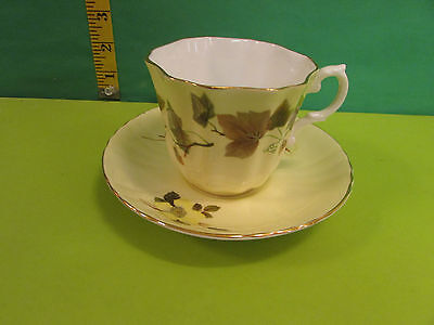 Vintage Grafton Tea Cup And Saucer