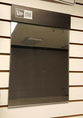 New Era store mirror slatwall direct from company store display awesome piece