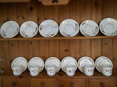 Highly Gilted Teaset For 6