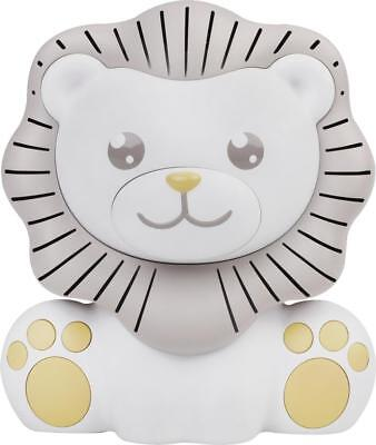 Project Nursery - Lion Sound Soother and Nightlight - White/Gray