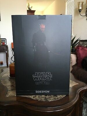 Sideshow Star Wars Darth Maul premium format Box only