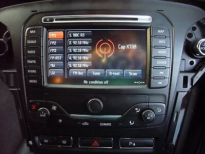 ford mondeo mk4 touch screen facelift sat nav cd radio. Black Bedroom Furniture Sets. Home Design Ideas