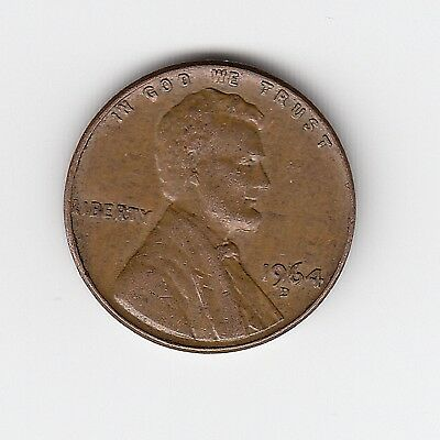 1964D Usa One 1 Penny/cent