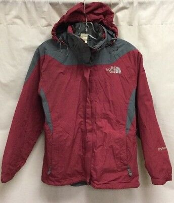 bf7455fa3 VINTAGE THE NORTH Face Hyvent Triclimate Jacket Women's Small Red Gray