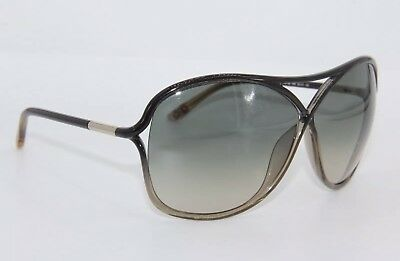 New Tom Ford Tf 184 20B Vicky Black/reen Gradient Sunglasses Ft184 65-10