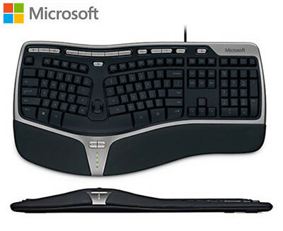 Microsoft Natural Ergonomic Keyboard 4000 - Black