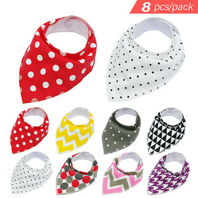 8pcs/lot Soft Bandana Dog Collars Pet Puppy Scarf Neckerchief for Yorkie Poodles