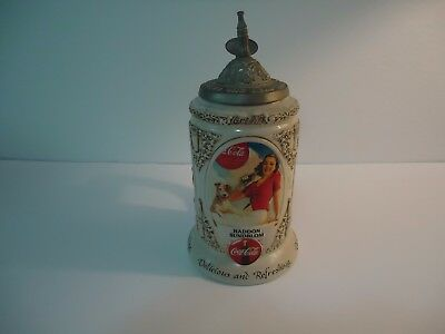 Coca-Cola Stein-Coke-1999 Early Illustrators Stein Series-Ceramarte-Rockwell