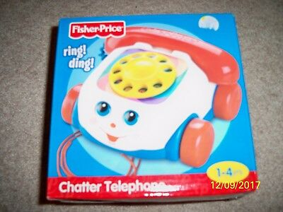 Brand New! Fisher-Price Ring! Ding! Chatter Telephone!